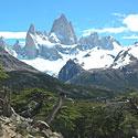 Fitz Roy kalnas Los Glaciares nacionaliniame parke