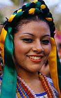 Meksikas, šokėja
