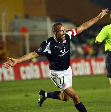 Henrikas Larssonas vis dar rezultatyvus