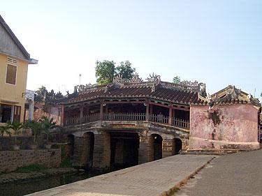 Vietnamas. Hoi An. Japoniškas tiltelis