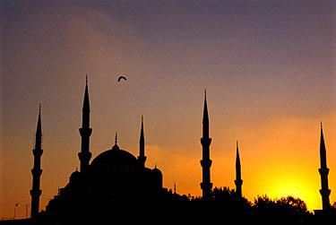 Saulėlydis Stambule