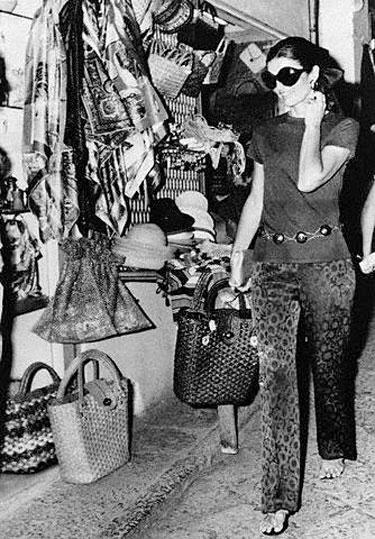 Jacqueline Kennedy-Onassis 1969 m.