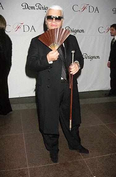 Karlas Lagerfeldas 1998 m.