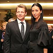 Marius Jovaiša su žmona Brigita