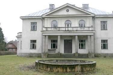 Iš buvusio A.Smetonos dvaro rūmų liko tik tiek