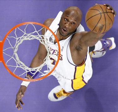 """Lamaras Odomas (""""Lakers"""")"""