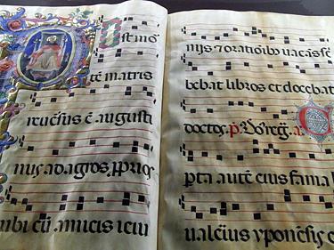 Florencija. Milžiniškas giesmynas Šv. Marko vienuolyne