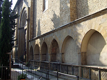 Florencija. Bažnyčios detalė