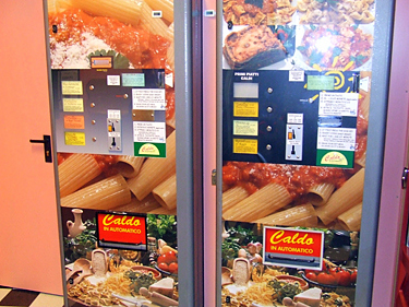 Florencija, pica tiesiai iš automato
