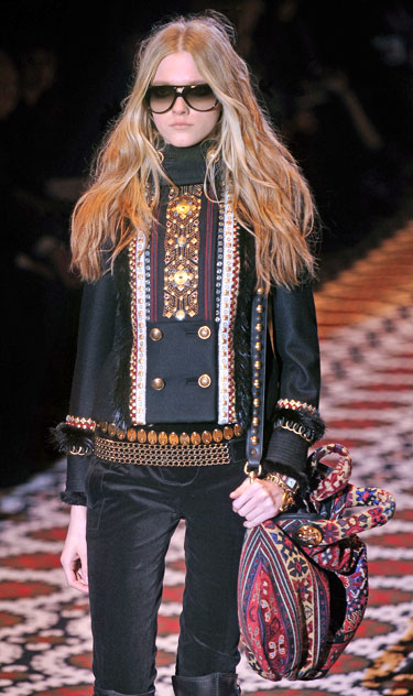 Gucci modelis, 2008-2009 m. ruduo-žiema