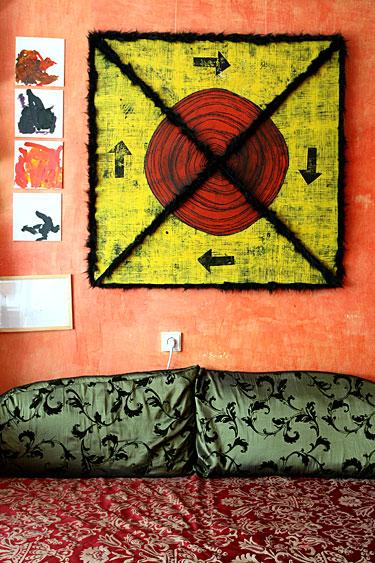 K.Norvilaitės namų interjeras