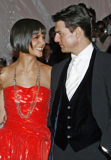 Katie Holmes ir Tomas Cruise