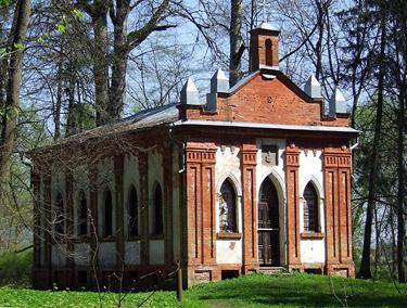 Belvederio dvaro koplytėlė, Panemunės pilys