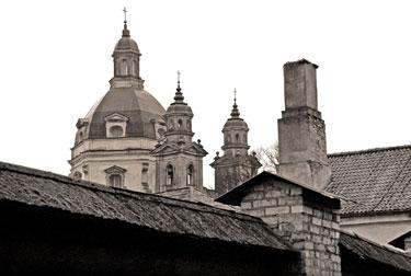 Pažaislio vienuolyno bokštai