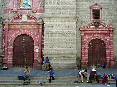 Peru, Ayacucho, bažnyčia