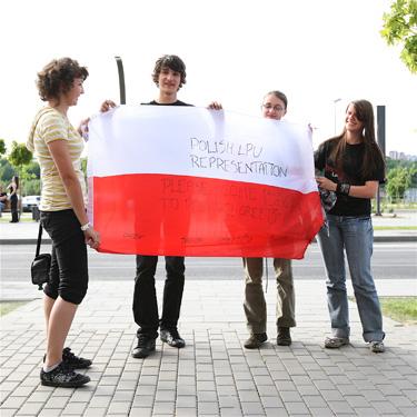 """""""Linkin Park"""" gerbėjai iš Lenkijos"""