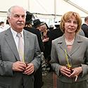 Alvydas Sadeckas su žmona