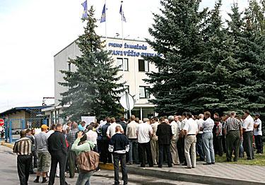 Pienininkų streikas