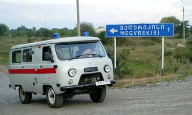 Gruzijos medikai Pietų Osetijoje