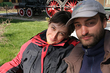 Augustas Kligys su Katja