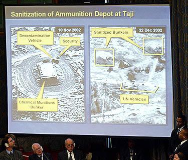 Irako amunicijos bunkeriai