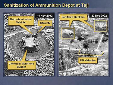Irako cheminio ginklo sandėlis