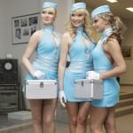 """Stiuardesių dvikova: """"Yva"""" prieš Britney Spears"""