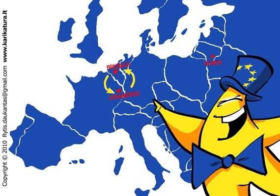 """""""Europiuko nuotykiai"""" - speciali rubrika vaikams."""