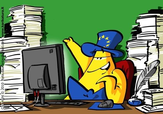 Europiukas dirba Briuselyje