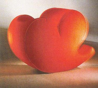 "Krėslas ""Soft heart"""