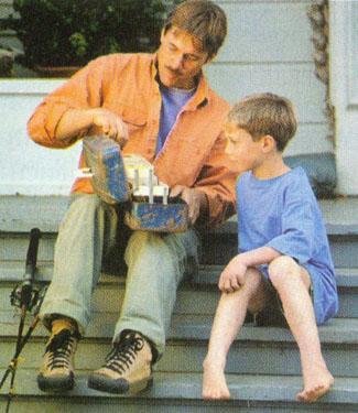 Tėtis ir sūnus