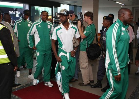 Nigerijos rinktinės futbolininkai