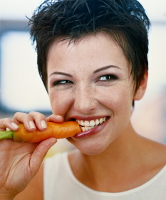 Valgo morkas, dieta, sveikata