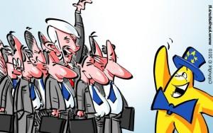 Europiukas susipažįsta su EP pirmininku Jerzy Buzeku ir 14 jo padėjėjų