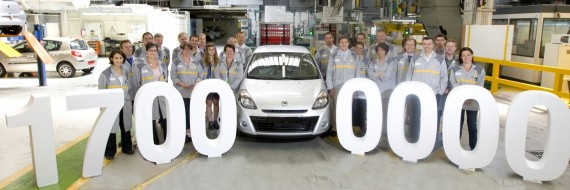 """""""Renault"""" Flins gamykloje pagaminta jau 17 mln. automobilių"""