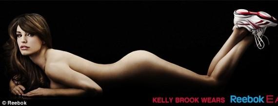 "Kelly Brook   ""Reebok"" nuotr."