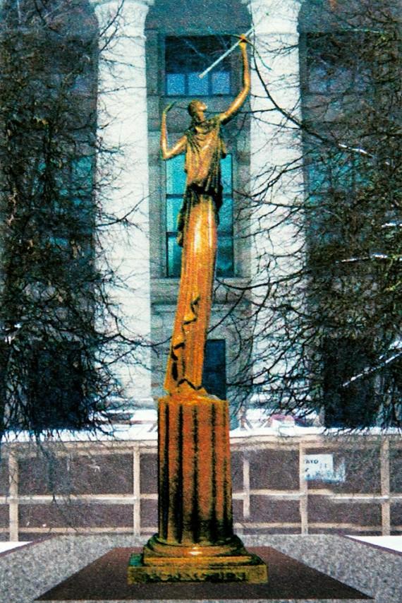 Недалеко от парламента появится скульптура, созданная для Снечкуса?