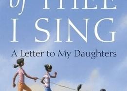 """B.Obamos knyga """"Dainuoju apie tave: laiškas dukroms"""""""
