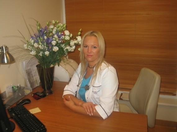 Gydytoja Eglė Merkelienė