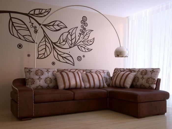 Sienas pagyvins pie iniai - Telas rusticas para sofas ...