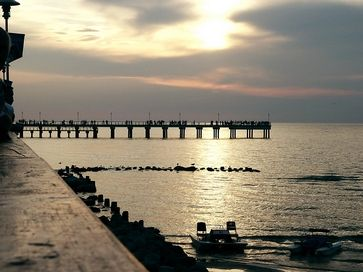 Palangos tiltas, Palanga, pajūris, Baltijos jūra
