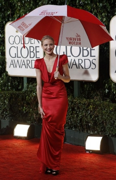 """""""Auksinių gaublių"""" apdovanojimai 2010 m. Cameron Diaz"""