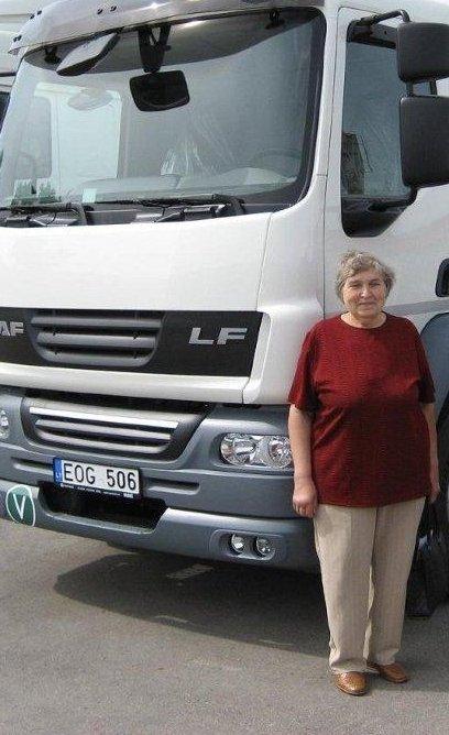 E.P.Petrylienė tikisi gauti paramą naujo pienovežio išlaidoms kompensuoti