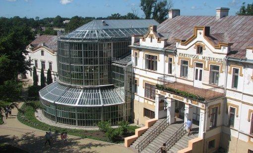 Grafų Tiškevičių dvaras, kuriame įsikūręs Kretingos muziejus. (kretingosmuziejus.lt nuotr.)