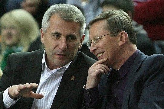 Vygaudas Ušackas ir Sergejus Ivanovas