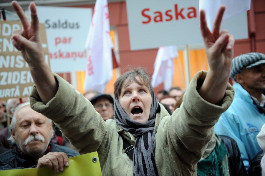 Русское эхо в прибалтийской провинции