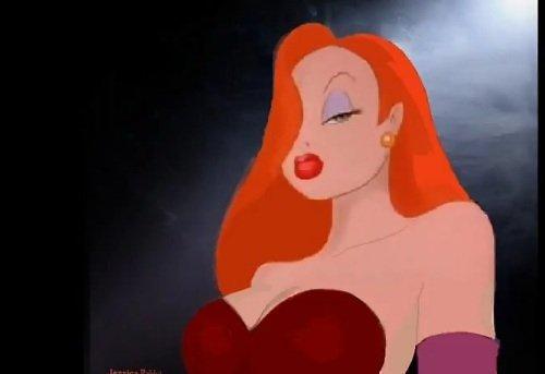 Animacinis personažas - Jessica Rabbit