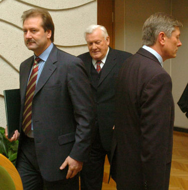 Algirdas Brazauskas, Artūras Paulauskas ir Viktoras Uspaskichas
