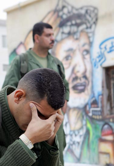 Palestiniečiai gedi Y.Arafato