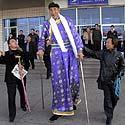 Xi Shun, 53-ejų metų 2,38 m ūgio ūkininkas iš Vidinės Mongolijos